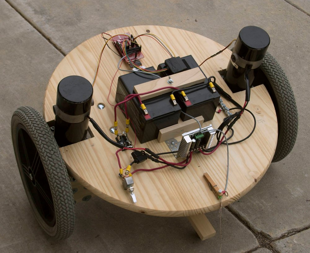 Building a self balancing robot basic is