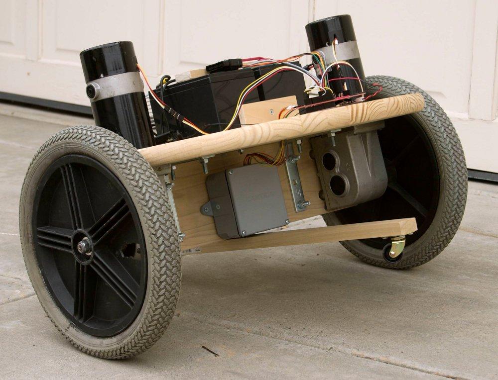 Building a self balancing robot basic balancing is for Robot motors and wheels