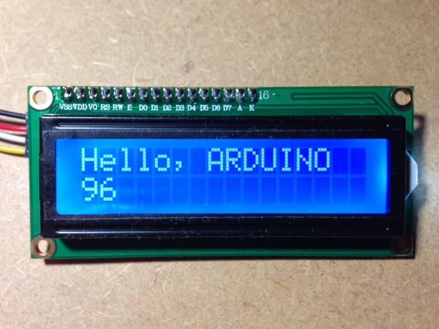 LCD1602Display_I2C Front