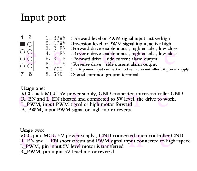 IBT-2-Input-Ports
